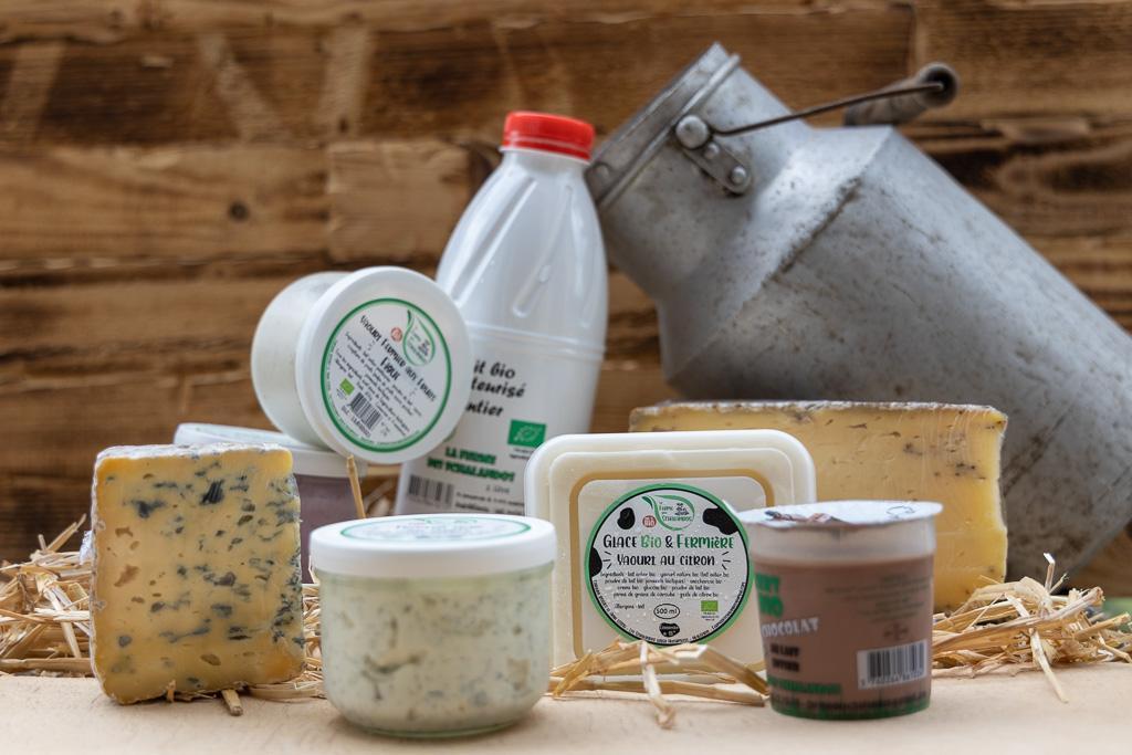 lait fromage yaourt glace ferme schalandos