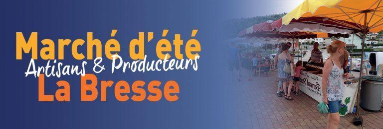 Marché d'été La Bresse